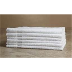 Economy White Bath Towels